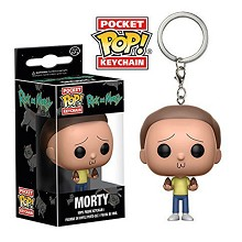 Funko-POP Rick and Morty figure doll key chain
