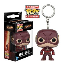 Funko-POP The Flash figure doll key chain