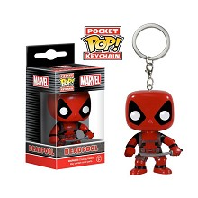 Funko-POP Deadpool figure doll key chain