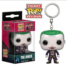 Funko-POP Suicide Squad The Joker figure doll key chain