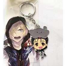 YURI on ICE anime key chain