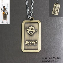 Overwatch mccree necklace