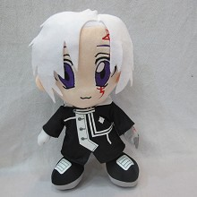 12inches D.Gray-man Allen Walker anime plush doll