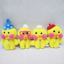 5.5inches cafemimi anime plush dolls set(4pcs a se...