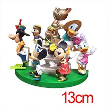 Mickey figures a set