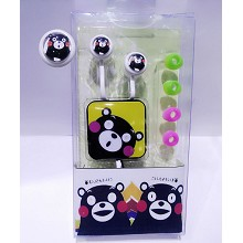 Kumamon MP3 + headphone