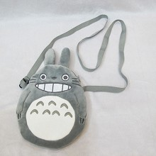 Totoro anime plush satchel shoulder bag