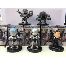 RoboCop figures set(5pcs a set)