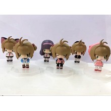 Card Captor Sakura anime figures set(6pcs a set)