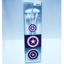 Captain America MP3 + Headphone