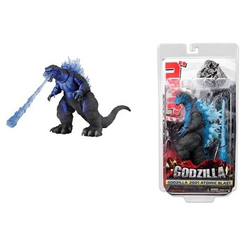 7inches NECA 2001 Godzilla figure