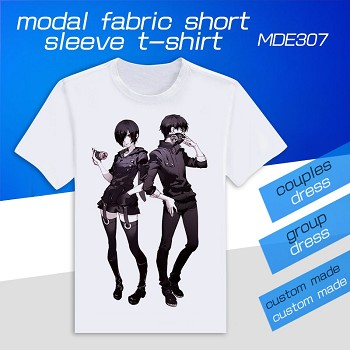 Tokyo ghoul anime modal fabric short sleeve t-shirt