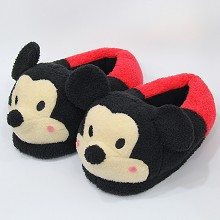 12 inches Minnie anime plush shoes slippers a pair
