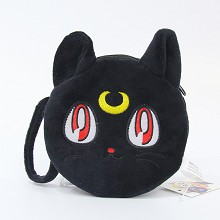 5.6inches Sailor Moon anime plush wallet coin purse