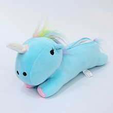 12inches Unicorn anime plush pen bag