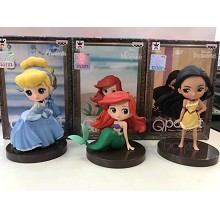 Disney Princess figures set(3pcs a set)