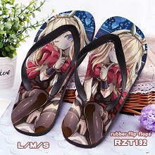 Granblue Fantasy rubber flip-flops shoes slippers ...