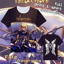 Fate Apocrypha anime short sleeve full print t-shi...
