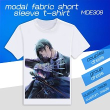 Kuroshitsuji anime modal fabric short sleeve t-shirt