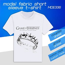 Game of Thrones modal fabric short sleeve t-shirt