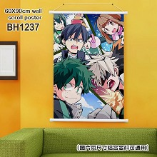 My Hero Academia anime wall scroll