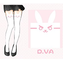 Overwatch D.VA silk stockings pantyhose