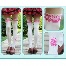 Lovelive anime silk stockings pantyhose