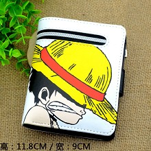 One Piece Luffy anime wallet