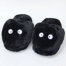 TOTORO plush shoes slippers a pair