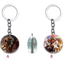 Hero Moba two-sided key chain