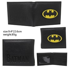 Batman silicone wallet