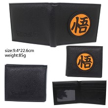 Dragon Ball silicone wallet
