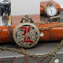 Death Note small pocket watch