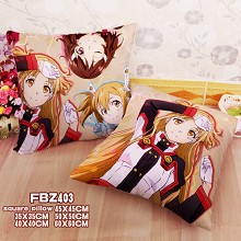 Sword Art Online two-sided pillow