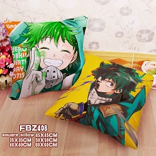 My Hero Academia two-sided pillow