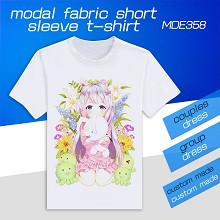 Eromanga-sensei modal fabric short sleeve t-shirt