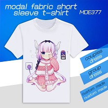 Kobayashi-san Chi no Maid Dragon modal fabric shor...