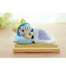 Doraemon anime figure doll phone holder