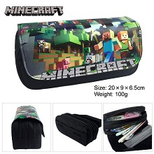 Minecraft pen bag