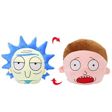 Rick and Morty anime pillow