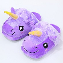 My Little Pony unicorn anime plush shoes slippers ...