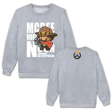 Overwatch Mccree long sleeve thick hoodie