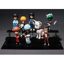 Gintama anime figures set(8pcs a set)