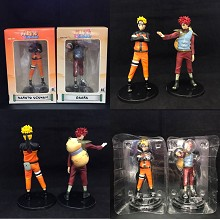 Naruto and Gaara anime figures set(2pcs a set)