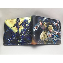Kingdom Hearts anime wallet