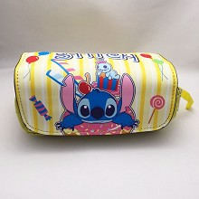 Stitch anime pen bag