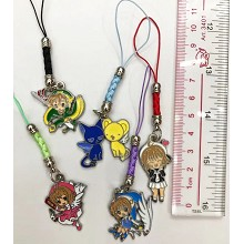 Card Captor Sakura anime phone straps a set