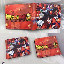 Dragon Ball super anime wallet
