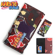Naruto anime long wallet