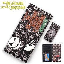 The Nightmare Before Christmas anime long wallet
